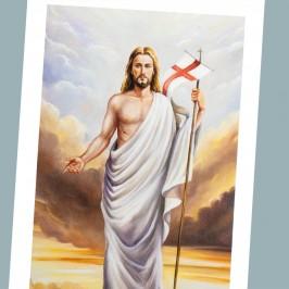 Immaginetta Gesù Risorto 100 pezzi