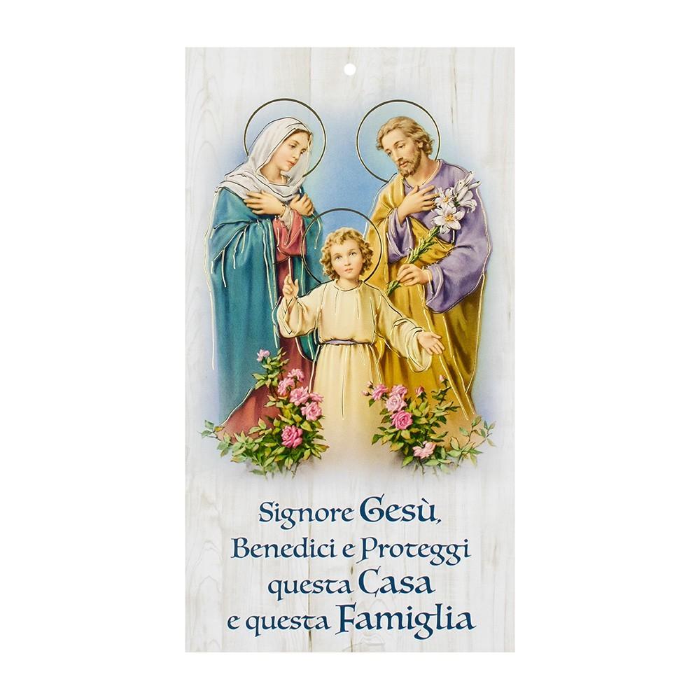 Benedizione Famiglia Immagine Sacra Famiglia