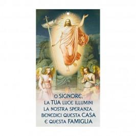 Benedizione Famiglia Immagine Gesù Risorto