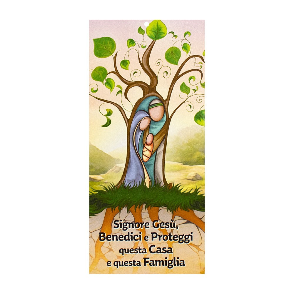 Benedizione casa con Immagine Sacra Famiglia