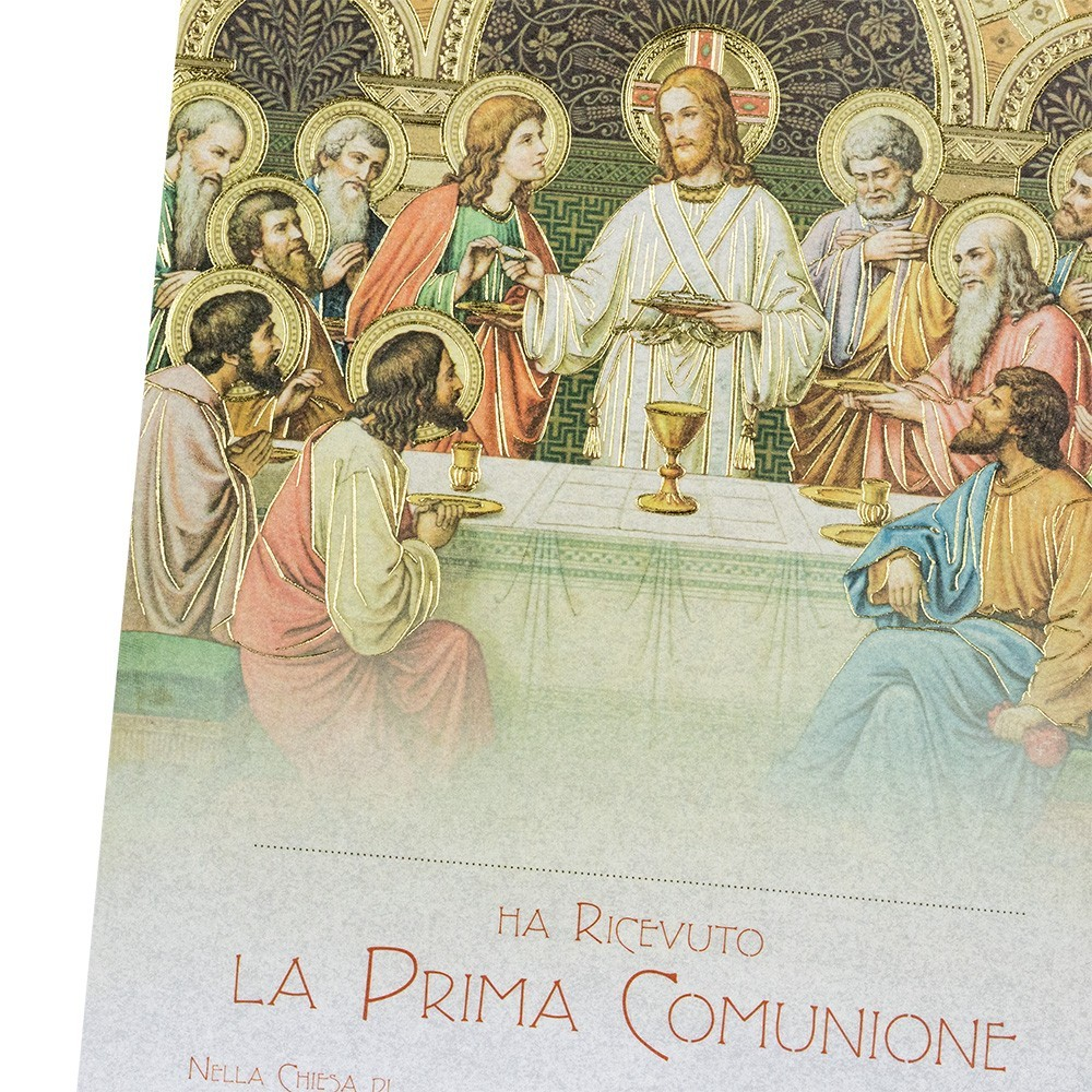 Cartoncino in Carta Pergamena per la Comunione