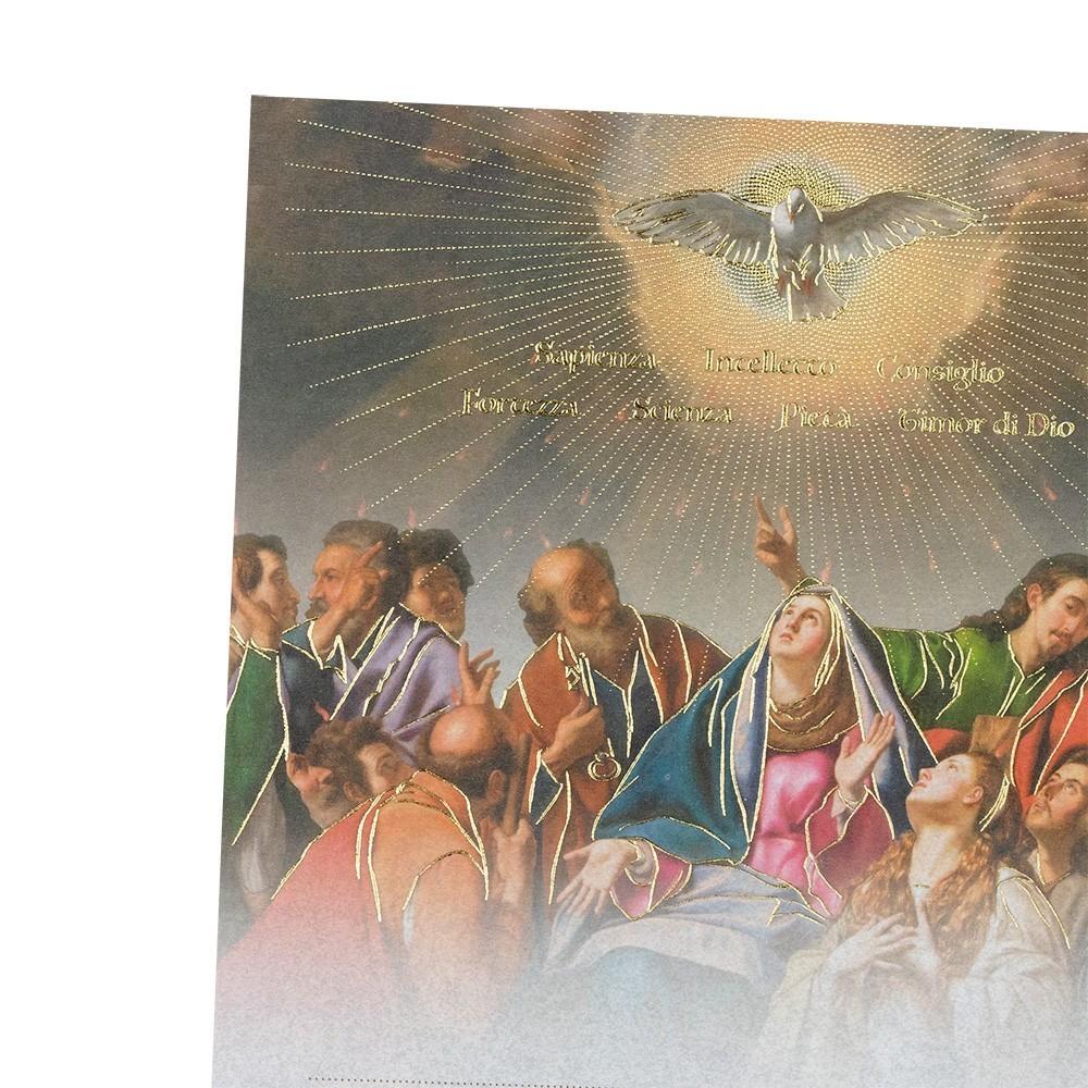 Pergamena Ricordo della Santa Cresima