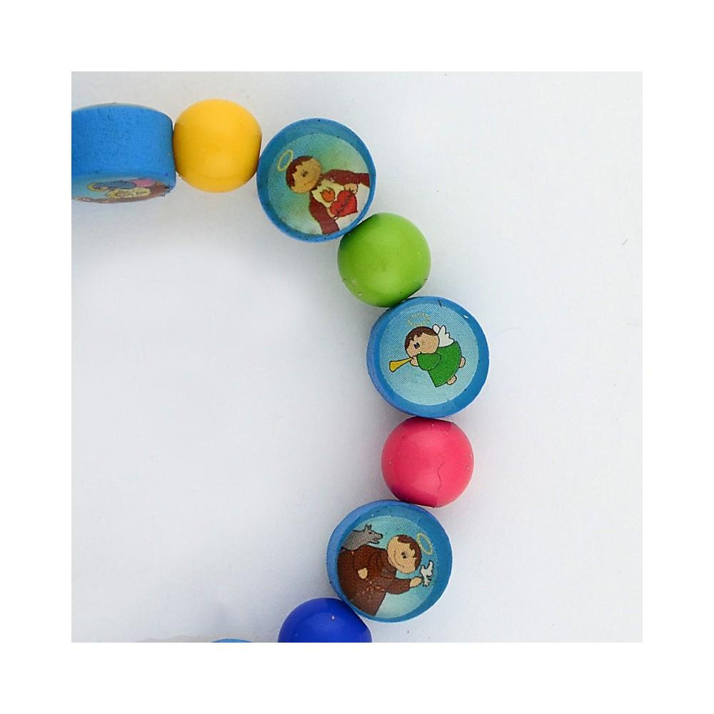 Bracciale con Grani Multicolor