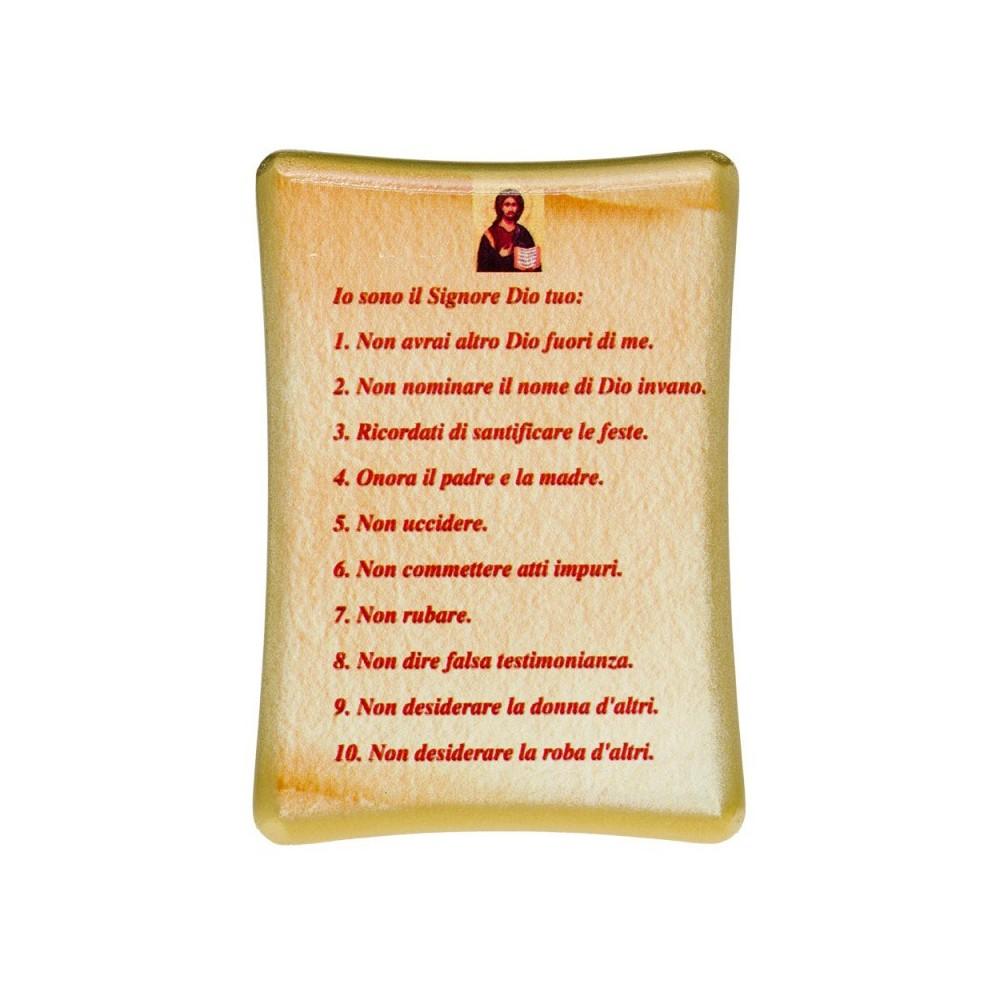 Tavoletta i Dieci Comandamenti