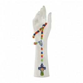 Portarosario Madonna Miracolosa con Rosario
