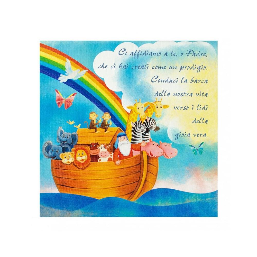 Quadro su Tela Arca di Noè