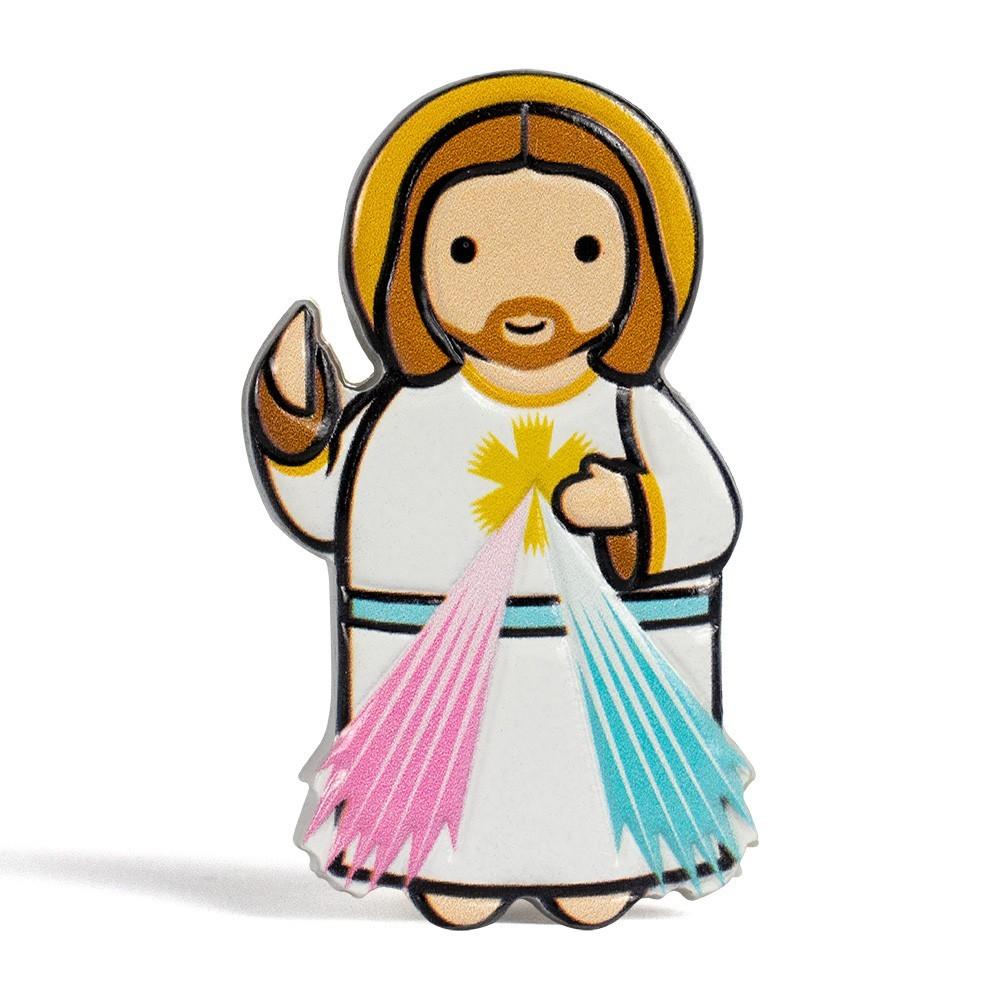 Magnete in Resina Gesù Misericordioso