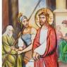 Via Crucis  15 Stazioni su Tela