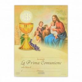 Pergamena Prima Comunione
