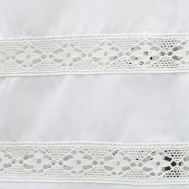 Camice Bianco con Tramezzo