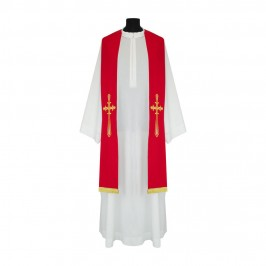 Stola per Sacerdote con Croce Ricamata