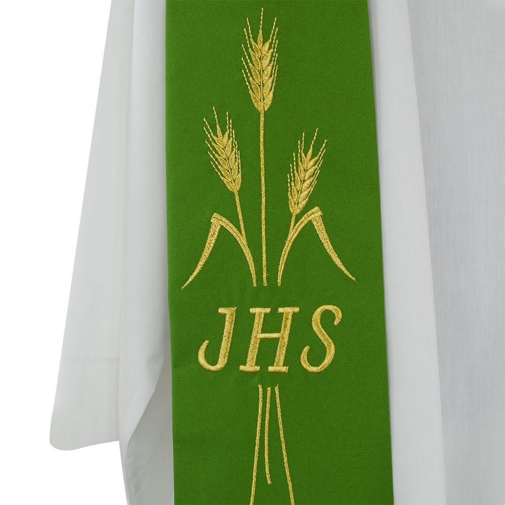Stola Sacerdotale con Ricamo JHS
