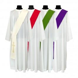 Stola da Diacono con Ricamo Croce