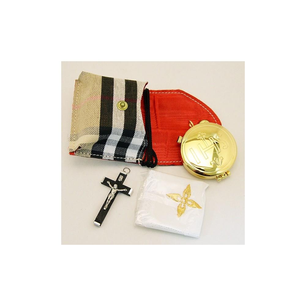Portateca con Croce e Purificatorio