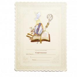Pergamena Ricordo Cresima