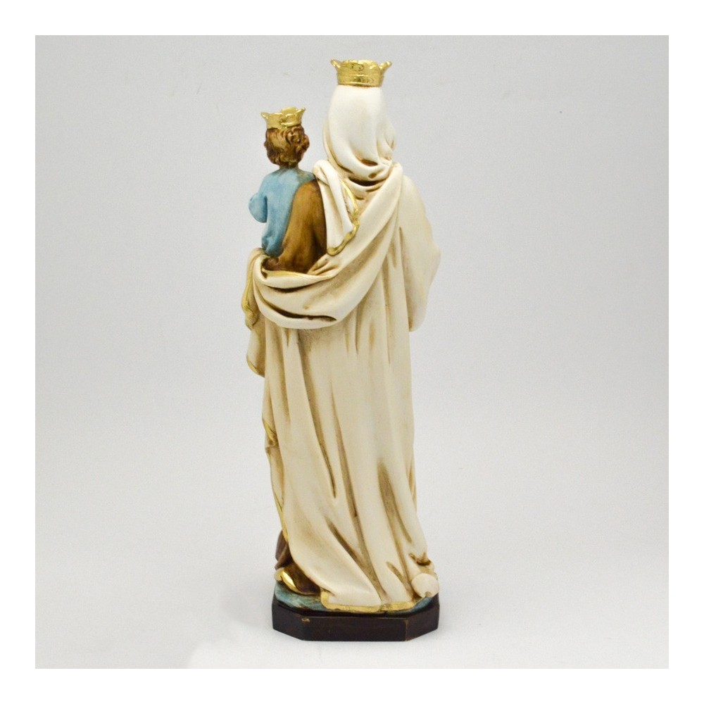 Madonna del Carmine resina cm. 29
