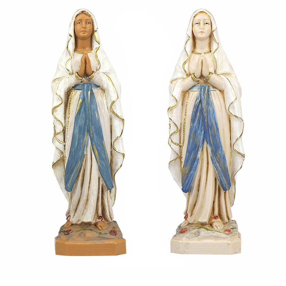 Madonna di Lourdes Fontanini 18 cm
