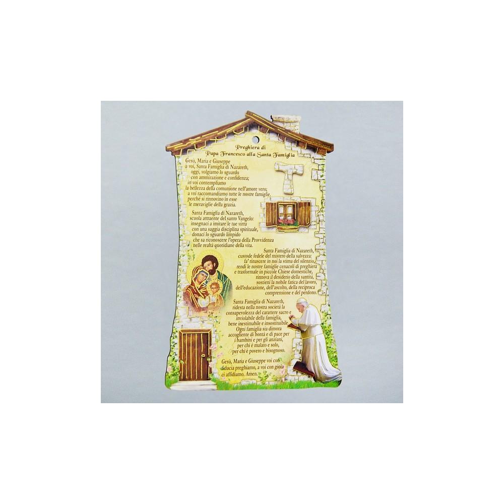 Quadretto benedizione Papa Francesco