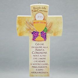Croce da parete Prima Comunione