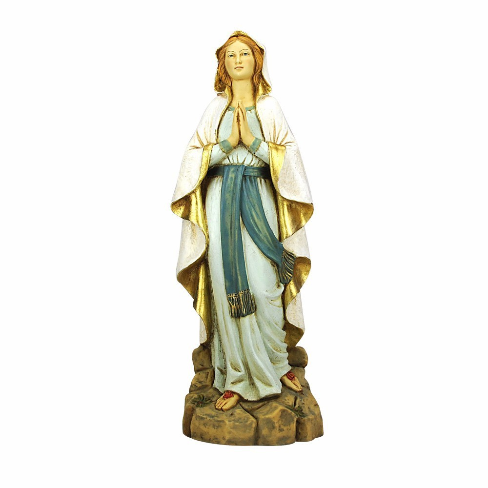 Statua Madonna di Lourdes Fontanini 50 cm