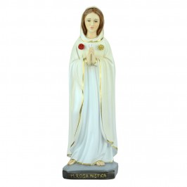 Statua Madonna Rosa Mistica cm 38