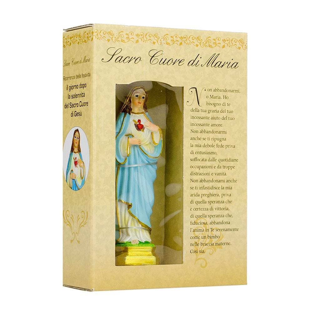 Statua Sacro Cuore di Maria Confezione Regalo