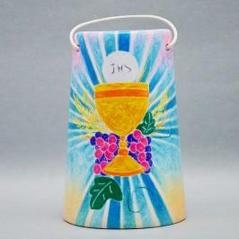 Tegola in ceramica Prima Comunione h 15 cm