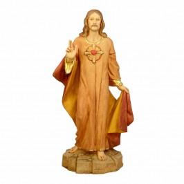 Statua Sacro Cuore di Gesù Fontanini