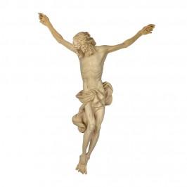 Cristo Barocco in Legno Brunito