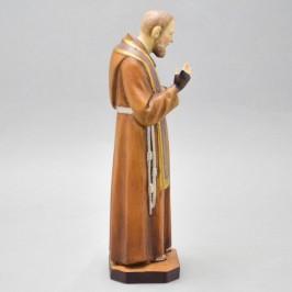 San Pio legno cm. 20