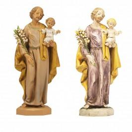 San Giuseppe con Bambino...