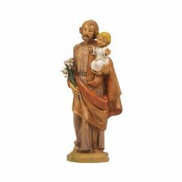 San Giuseppe con Bambino Fontanini 11 CM