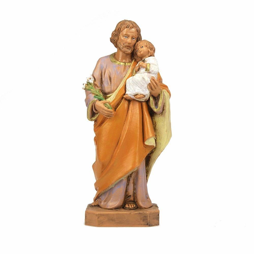 San Giuseppe con Bambino Fontanini 18 CM