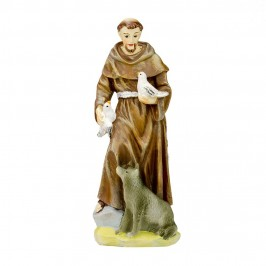 Statua San Francesco in Scatola Regalo