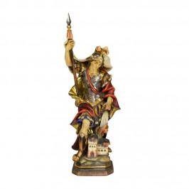 Statua San Floriano in Legno
