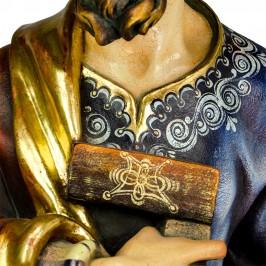 Statua San Giuseppe Artigiano in Legno