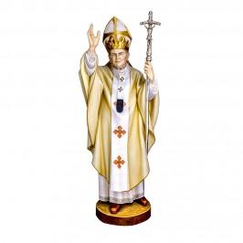 Statua Papa Giovanni Paolo II in Legno