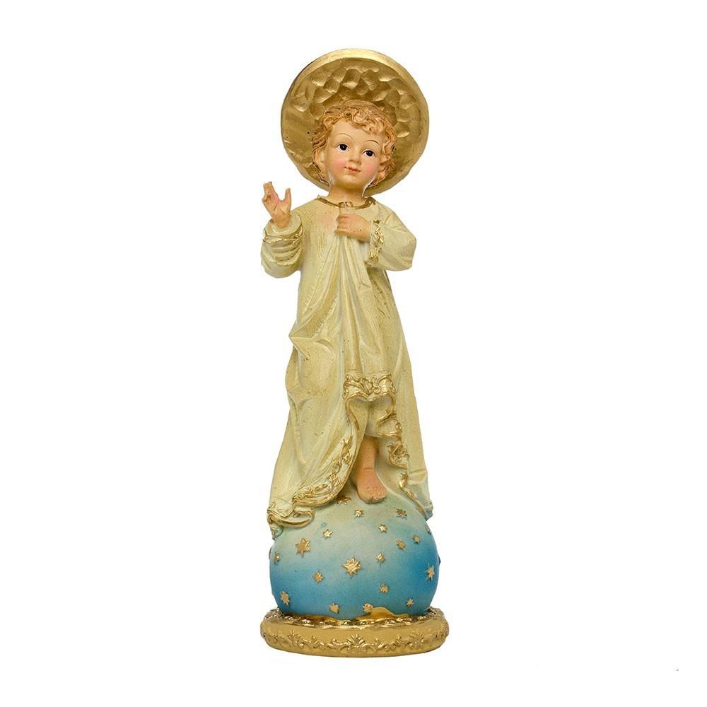 Gesù Bambino Benedicente H 20 cm
