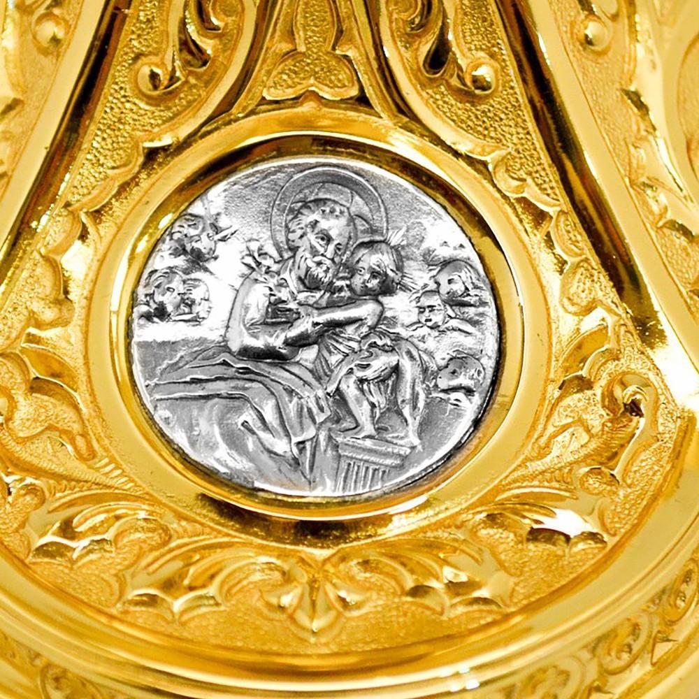 Calice ottone spagnolo