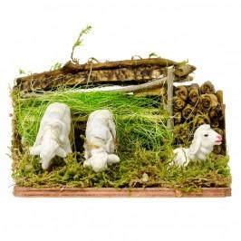 Pecore al Pascolo Presepe Movimento