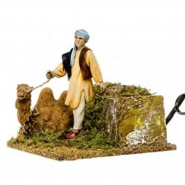 Arabo con Cammello per il Presepe