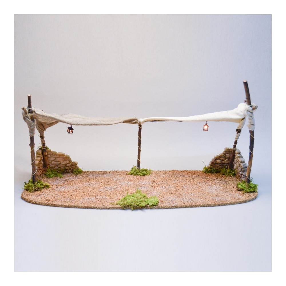 Tenda Araba Doppia per Presepe