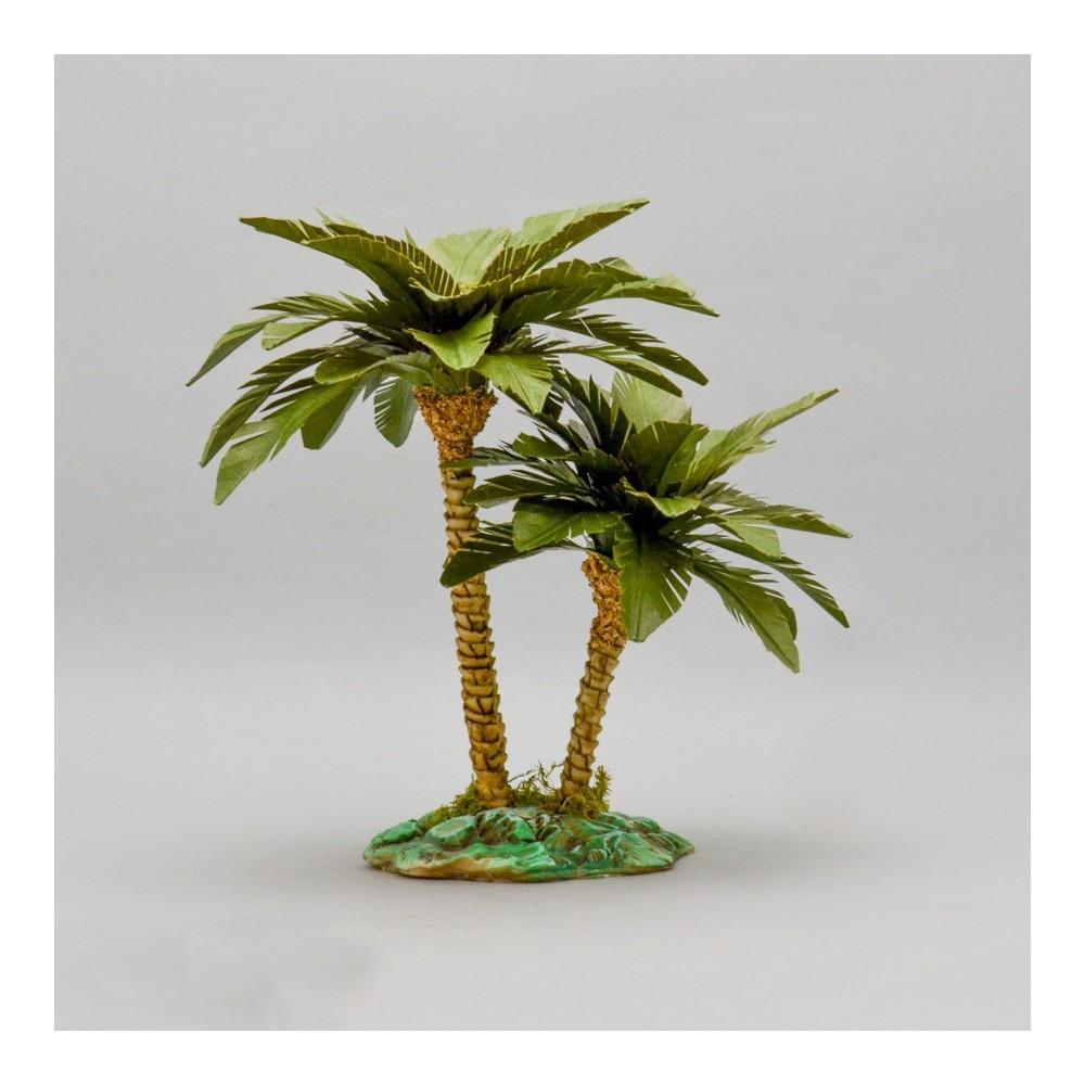 Palma Doppia per Presepe 15 cm