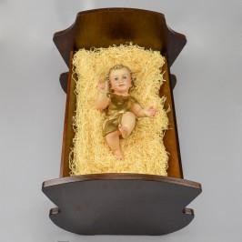 Culla in Legno per Gesù Bambino