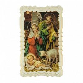 Immaginetta Sacra Famiglia