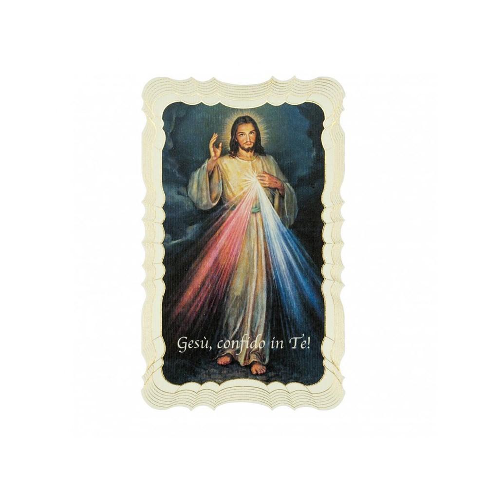 Immaginetta Gesù Misericordioso