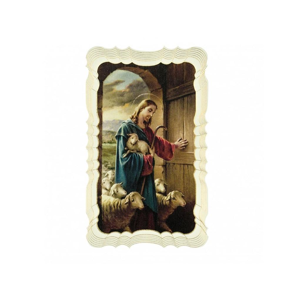 Immaginetta Gesù Buon Pastore
