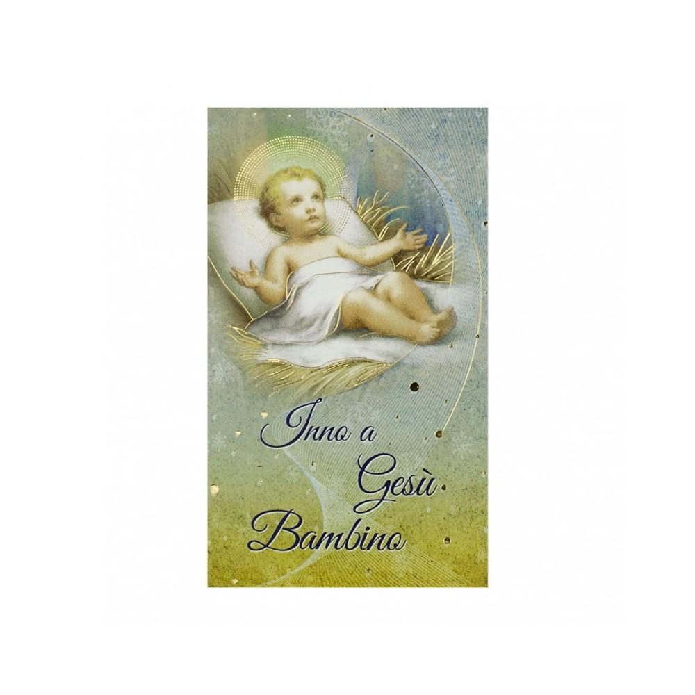 Immaginetta Inno a Gesù Bambino