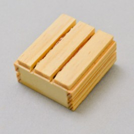 Cassettina in Legno con Finocchi