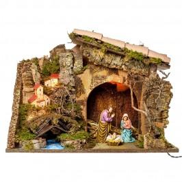 Grotta Presepe con Borgo